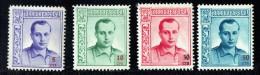 Jose Antonio Primo De Rivera   5 , 10, 30 Y 50 Cts  Numeracion Horizontal En El Reverso  * - Viñetas De La Guerra Civil