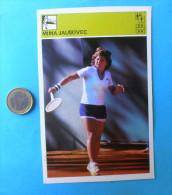 MIMA JAUSOVEC - Sloveniia ( Yugoslavia - Vintage Card Svijet Sporta ) Tenis Sport - Tennis