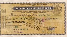 BANCO DI NAPOLI - Monete & Banconote