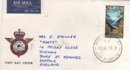 NEW ZEALAND   Fox glacier  30/07/68