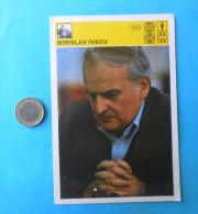 BORISLAV IVKOV  ( Yugoslavia Vintage Card Svijet Sporta ) Chess Echecs Ajedrez Schach Scacchi Check Shah - Sports