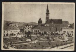 Sibiu-Hermannstadt-Nagyszeben-Medias-Mediasch-Piata Republicii-Republic´s Square-used,perfect Shape - Romania