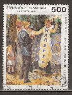 Timbre France Y&T N°2692 (03) Obl. La Balançoire. 5 F. 00. Multicolore. Cote 1.25 € - Frankreich