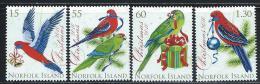 "Norfolk Islands     ""Birds-Christmas 2010""     Set    SC# 1013-16   MNH** - Norfolk Island"