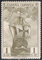 Spain SG593 1930 Columbus 1c Mounted Mint - Unused Stamps