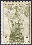 Spain SG594 1930 Columbus 2c Mounted Mint - Unused Stamps