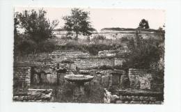 Cp , 60 , ORROUY , Ruines De CHAMPLIEU , Bains Gallo - Romain , Vierge , Photo : Duclos - France