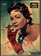 """Das Neue Film-Programm Von Ca. 1957  -  """"Franziska""""  -  Mit Ruth Leuwerik , Carlos Thompson - Magazines"""