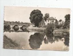 Cp , 29 , CHATEAUNEUF DU FAOU , L'auberge Du Saumon à PONT POL FY GLAS , Voyagée 1952 , Ed : Gaby/Artaud 19 - Châteauneuf-du-Faou
