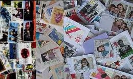 Europe-West KILOWARE Goldbag 500g (1LB-1½oz) Only Semi-postals Stamp Mixture        [vrac Kilowaar Kilovara] - Lots & Kiloware (min. 1000 Stück)