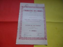 FINANCIERE DES MINES (1925) - Shareholdings