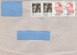 A] Enveloppe Cover Turquie Turkey Attatürk President Leader Homme Politique Politician - Turkey