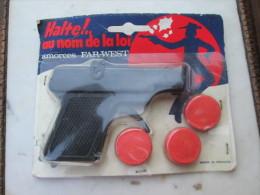 Pistolet à Amorces Marque Orli Jouet  (Halte Au Nom De La Loi ) - Autres Collections
