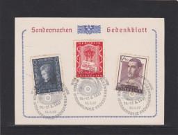 Wiener Internationale Frühjahr Messe Gedenkblatt Rotundengelände 13.3.1957 - Österreich