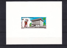 t�l�communications - Rwanda - COB LX PA 8 ** - MNH - feuillet de luxe - valeur 25 euros