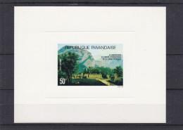 Conseil International langue Fran�aise - Rwanda - COB LX PA 11 ** - MNH - feuillet de luxe - valeur 25 euros