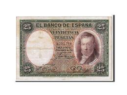 Espagne, 25 Pesetas Type V. Lopez - 1-2-5-25 Pesetas