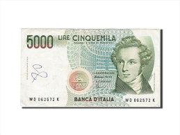 [#257693] Italie, 5000 Lire, Type V. Bellini - [ 2] 1946-… : Repubblica