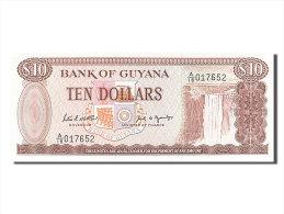 [#255950] Guyane, 10 Dollars, Type 1966 - Guyana
