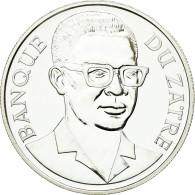 Monnaie, Zaïre, 2-1/2 Zaires, 1975, SPL, Argent, KM:9 - Zaïre (1971-97)