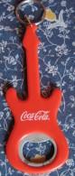 Coca-Cola Bottle Opener Shaped Like Guitar, Croatia, Limited Edition