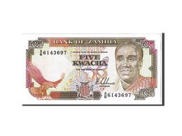 Zambie, 5 Kwacha Type 1989 - Zambie