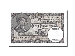 Belgique, 5 Francs Type 1926-31 - [ 2] 1831-... : Belgian Kingdom