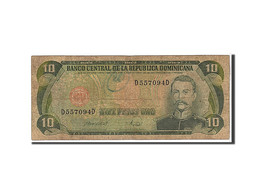 [#110121] République Domicaine, 10 Pesos Oro Type 1996 - Dominicaine