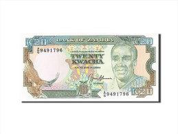 [#258614] Zambie, 20 Kwacha, Type Président K. Kaunda - Zambia