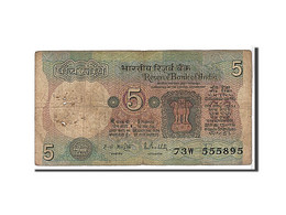 Inde, 5 Rupees Type 1975 - India