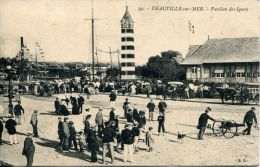 N°6458A -cpa Deauville -pavillon Des Sports- - Deauville