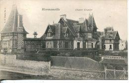 N°6467A -cpa Hermanville Sur Mer -chalet Gravier- - Andere Gemeenten