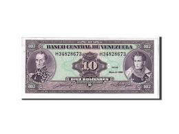 Venezuela, 10 Bolivares Type 1990 - Venezuela