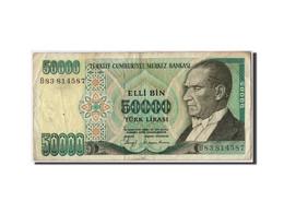 Turquie, 50 000 Lira Type Atatürk - Turchia