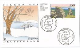 Allemagne RFA 1994 1573 FDC Erzgebirge Bilder Aus Deutschland - FDC: Covers