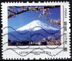 FRANCE Montimbramoi personalized stamp Mont Fuji Volcan mountain vulcano Vulkan vulkaan Volcano