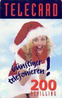 USED PHONE CARDS  AUSTRIA  CHRISTMAS - Austria