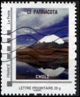 FRANCE Montimbramoi personalized stamp Parinacota Chili Volcan mountain vulcano Vulkan vulkaan Volcano