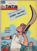 LE JOURNAL DE TINTIN N°744 - 24 JANVIER 1963 - JOHNNY HALLYDAY S'EXPLIQUE - JARI AU PAYS BASQUE - PELOTE - RIC HOCHET - Tintin