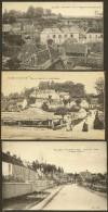 OULCHY Le CHÂTEAU 3 CPA Av. Gare Rte Brény HospiceFontaine Boutarde (Dujon) Aisne (02) - France
