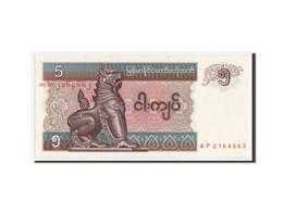 Myanmar, 5 Kyats Type 1991-98 ND, Pick 70 - Bankbiljetten