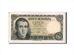 [#304414] Espagne, 5 Pesetas Type Balmes - [ 3] 1936-1975 : Régence De Franco