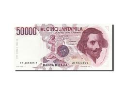 Italie, 50 000 Lire, Type Gian Lorenzo Bernini - [ 2] 1946-… : République
