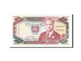 [#157085] Kenya, 50 Shillings Type Arap Moi - Kenya