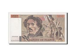 France, 100 Francs Delacroix 1988, Pick 154d - 1962-1997 ''Francs''