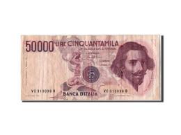 [#304081] Italie, 50 000 Lire Type Bernini - [ 2] 1946-… : République