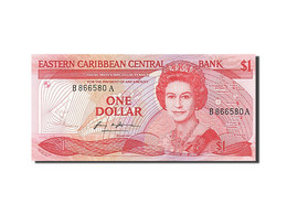 [#255695] Caraïbes, 1 Dollar, Type Elisabeth II - Caraïbes Orientales (Etats Des)