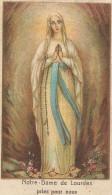 Image Pieuse Religieuse Holy Card Santini Illustration Bon Point Notre Dame De LOURDES Farine SALVY - Devotion Images