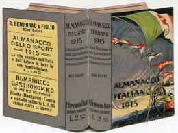 CALENDARIETTO ALMANACCO ITALIANO ANNO 1915 - Calendari