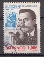 MONACO 2013 Mi.nr.:3154 Geburtstag Von Jules Richard  OBLITÉRÉS / USED / GESTEMPELD - Gebraucht